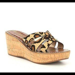 New! Sam Edelman Leopard Raynere sandal-9